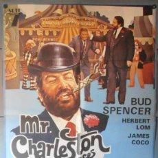 Cine: (11894)MR. CHARLESTON Y SUS SECUACES, CARTEL DE CINE ORIGINAL 70X100 APROX,CONSERVACION,VER FOTO . Lote 46448986