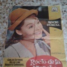 Cine: ROCIO DE LA MANCHA CARTEL O POSTER DE CINE 99 CMS. DE ALTO X 70 DE LARGO. Lote 46513743