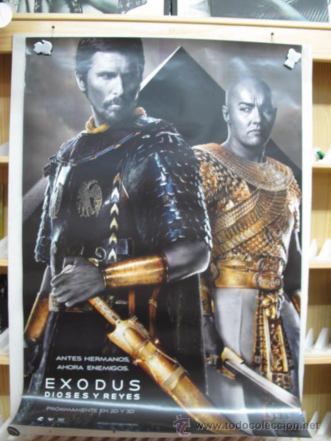 EXODUS DIOSES Y REYES (Cine - Posters y Carteles - Aventura)