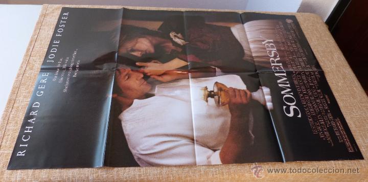 Cine: Sommersby Póster original de la película, Original, Doblado, año 1993, Hecho en U.S.A., Richard Gere - Foto 2 - 46552584