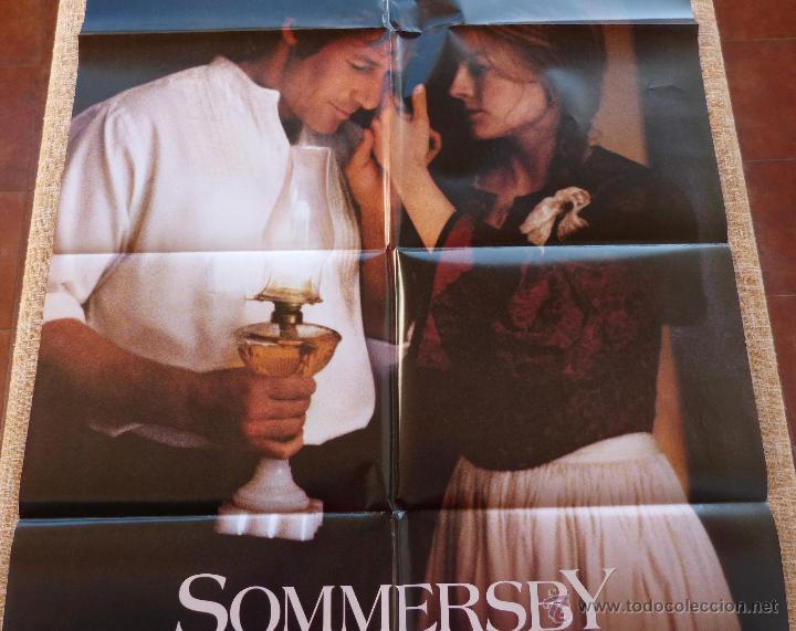 Cine: Sommersby Póster original de la película, Original, Doblado, año 1993, Hecho en U.S.A., Richard Gere - Foto 4 - 46552584