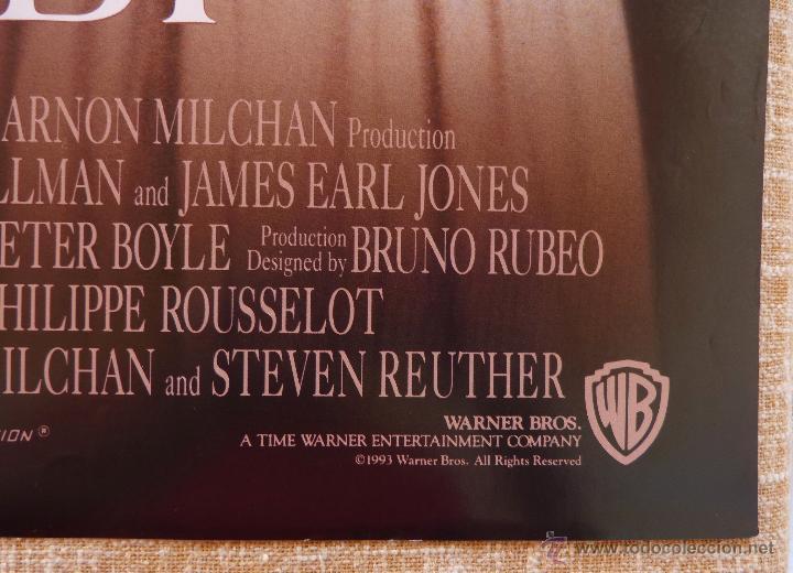 Cine: Sommersby Póster original de la película, Original, Doblado, año 1993, Hecho en U.S.A., Richard Gere - Foto 9 - 46552584