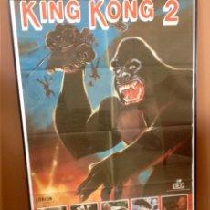 Cine: CARTEL CINE ORIGINAL KING KONG. Lote 46553612