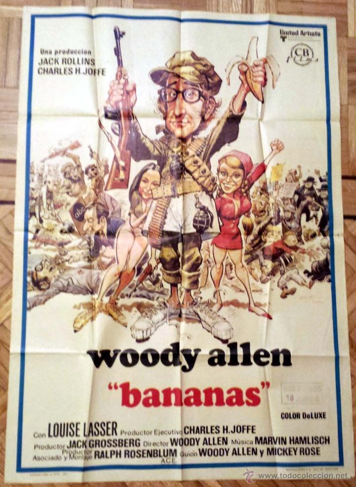 BANANAS / WOODY ALLEN (POSTER) (Cine - Posters y Carteles - Comedia)