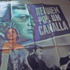 Cine: CARTEL REQUIEN POR UN CANALLA. Lote 46666887