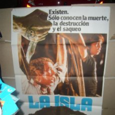 Cine: LA ISLA MICHAEL CAINE POSTER ORIGINAL 70X100 YY(875). Lote 46686957