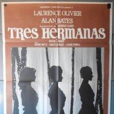 Cine: (12807)TRES HERMANAS, CARTEL DE CINE ORIGINAL 70X100 APROX,CONSERVACION:VER FOTO . Lote 46766118