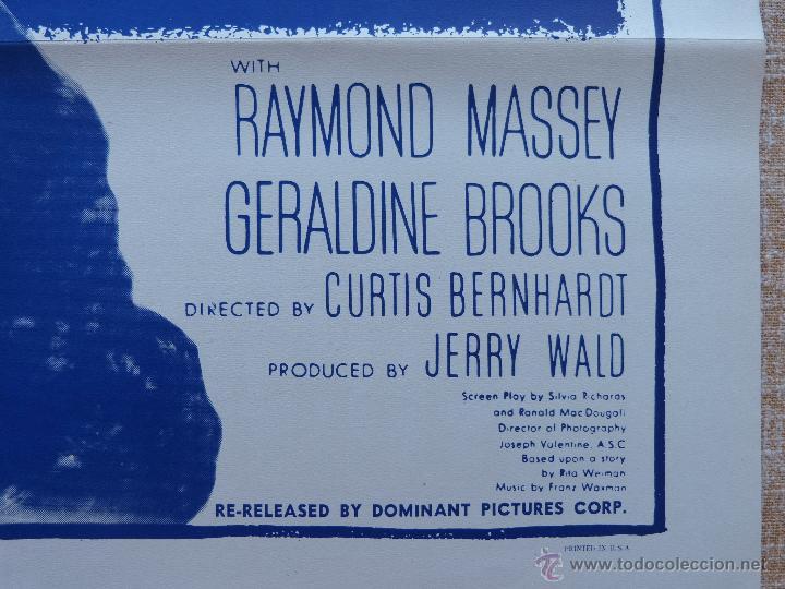 Cine: Possessed Póster original de la película, Doblado, Reproducción del año 1956, U.S.A., Póster usado - Foto 9 - 46796105