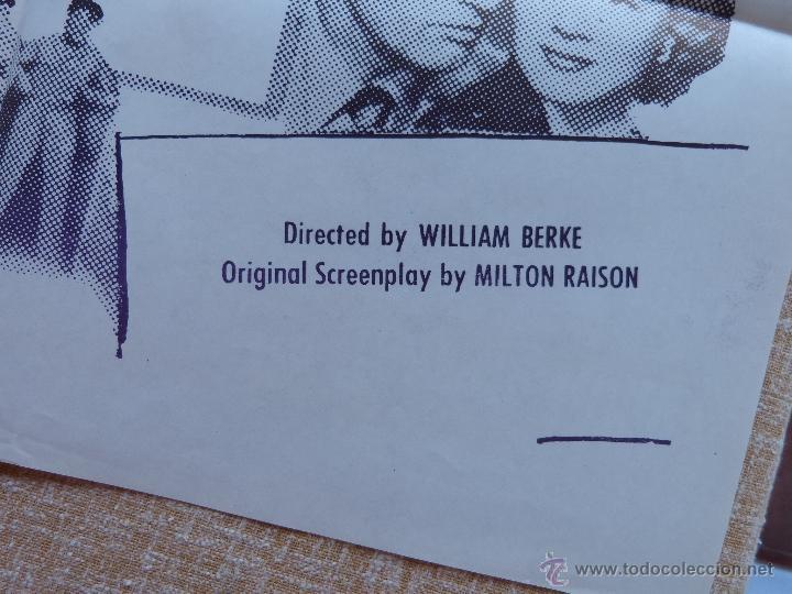 Cine: Speed to Spare Póster Militar original de la película, Original, Doblado, año R1950s?, U.S.A., Usado - Foto 6 - 46798625
