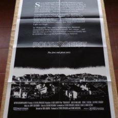 Cine: POLTERGEIST PÓSTER ORIGINAL DE LA PELÍCULA, ORIGINAL, DOBLADO, INTERNACIONAL, AÑO 1982, HECHO EN USA. Lote 46835128