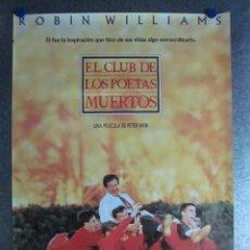 Cine: EL CLUB DE LOS POETAS MUERTOS, ROBIN WILLIAMS. Lote 46908433