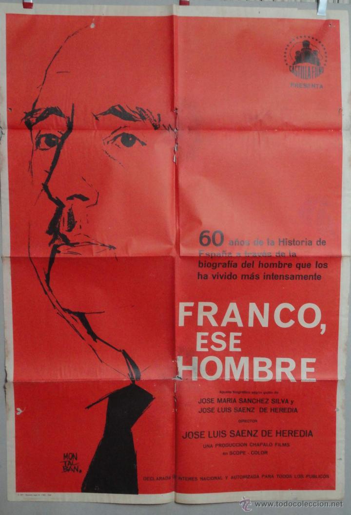 FRANCO ESE HOMBRE POSTER (Cine - Posters y Carteles - Documentales)