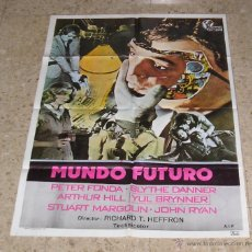 Cine: CARTEL DE CINE - MOVIE POSTER MUNDO FUTURO. Lote 47019035