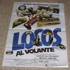 Cine: CARTEL DE CINE - MOVIE POSTER LOCOS AL VOLANTE. Lote 47019239