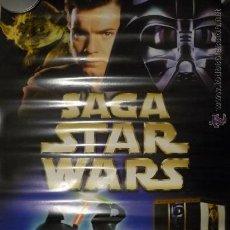 Cine: POSTER 1 X 7O DE VIDEOCLUB-- SAGA STAR WARS. Lote 35927923