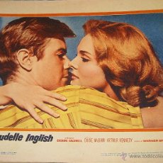 Cine: CLAUDELLE INGLISH LOBBY CARD ORIGINAL DE ESTADOS UNIDOS DIANE MC BAIN ARTHUR KENNEDY 1961. Lote 47081415