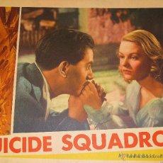 Cinema: SUICIDE SQUADRON LOBBY CARD ORIGINAL ESTADOS UNIDOS DANGEROUS MOONLIGHT ANTON WALBROOK SALLY GRAY . Lote 47081671