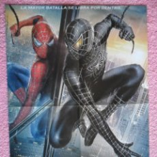 Cine: POSTER SPIDER MAN 3 Y EN TRASERA SPECTROBES DE DIBUS 2007. Lote 47114406