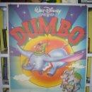 Cine: DUMBO WALT DISNEY POSTER ORIGINAL 70X100 Q. Lote 47117910