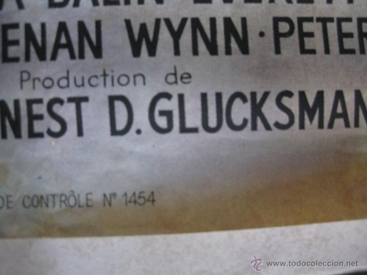 Cine: JERRY LEWIS SOUFFRE-DOULEUR. CALAMIDAD. POSTER FRANCES. PARAMOUNT. AUSSEL PARIS. POSTER GRANDE - Foto 7 - 47144963
