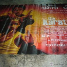Cine: THE KARATE KID JACKIE CHAN ESPECTACULAR LONA 275X190 CM. Lote 47210426