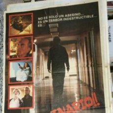 Cine: SANGUINARIO (HALLOWEEN II) - DIRECTOR: RICK ROSENTHAL - INTÉRPRETES: JAMIE LEE CURTIS, DONALD PLEASE. Lote 47288437