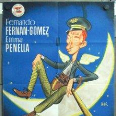 Cine: VN64 EL GUARDIAN DEL PARAISO FERNANDO FERNAN GOMEZ POSTER ORIGINAL 70X100 ESTRENO LITOGRAFIA. Lote 47305068