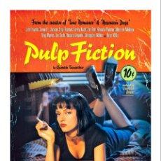 Cine: PULP FICTION TARANTINO. LÁMINA CARTEL DE CINE 45 X 32 CMS.. Lote 121174660