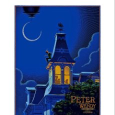 Cinema: PELICULA PETER & WENDY. LÁMINA CARTEL DE CINE. PETER PAN. WALT DISNEY. Lote 79002458
