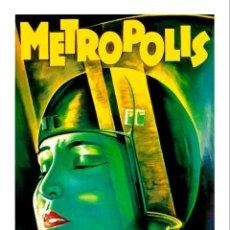 Cine: METROPOLIS FRITZ LANG. LÁMINA CARTEL DE CINE. Lote 195396611