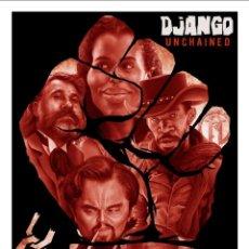 Cine: DJANGO TARANTINO. LÁMINA CARTEL DE CINE. Lote 47337858
