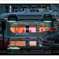 Cine: REGRESO AL FUTURO 2. LÁMINA CARTEL DE CINE. 45 X 32 CMS.. Lote 230091880