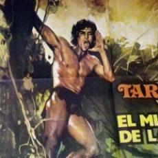 Cine: CARTEL, POSTER ORIGINAL, TARZAN Y EL MISTERIO DE LA SELVA, M. IGLESIAS, 1972, GREEN INFERNO. Lote 47442168