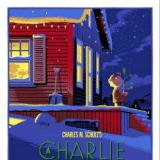 Cine: CHARLIE BROWN CHRISTMAS. LÁMINA CARTEL DE CINE. Lote 143137477