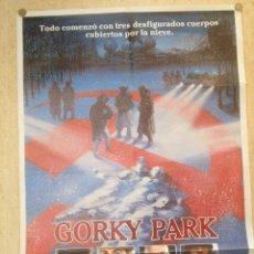 Cine: CARTEL CINE ORIGINAL GORKY PARK. Lote 47576255