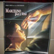 Cinema - MARCELINO PAN Y VINO COMENCINI POSTER ORIGINAL 70X100 YY (925) - 47588630