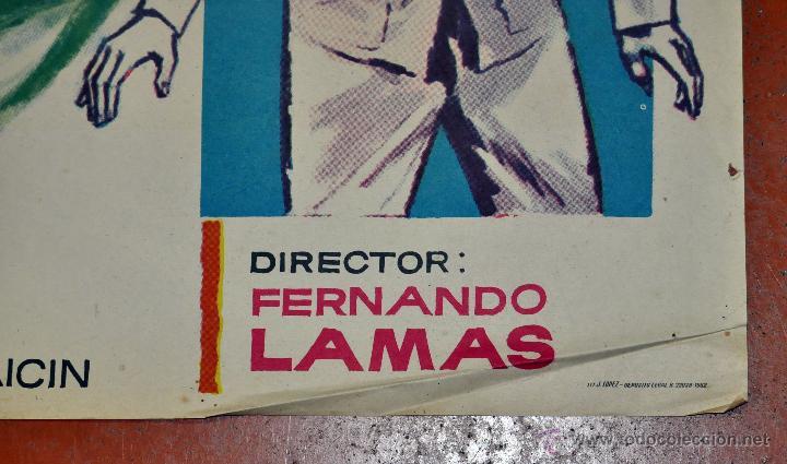 Cine: POSTER ORIGINAL, LA FUENTE MAGICA ESTHER WILLIAMS FERNANDO LAMAS 70X100 - Foto 2 - 47593381