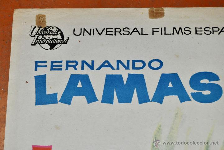 Cine: POSTER ORIGINAL, LA FUENTE MAGICA ESTHER WILLIAMS FERNANDO LAMAS 70X100 - Foto 4 - 47593381