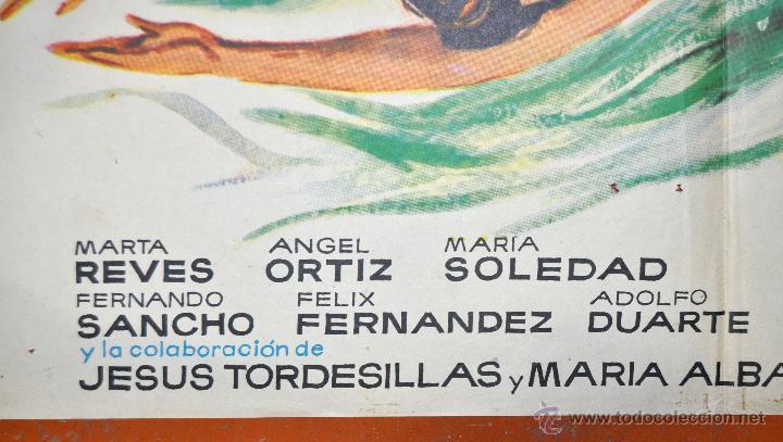 Cine: POSTER ORIGINAL, LA FUENTE MAGICA ESTHER WILLIAMS FERNANDO LAMAS 70X100 - Foto 5 - 47593381