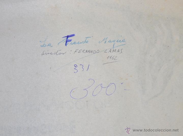 Cine: POSTER ORIGINAL, LA FUENTE MAGICA ESTHER WILLIAMS FERNANDO LAMAS 70X100 - Foto 6 - 47593381