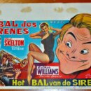 Cine: POSTER ORIGINAL, LE BAL DES SIRENES, ESTHER WILLIAMS Y RED SKELTON DEL AÑO 1944. Lote 47595207