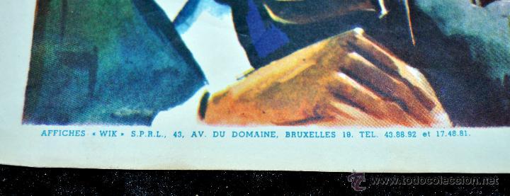 Cine: POSTER ORIGINAL, LE BAL DES SIRENES, ESTHER WILLIAMS Y RED SKELTON DEL AÑO 1944 - Foto 4 - 47595207