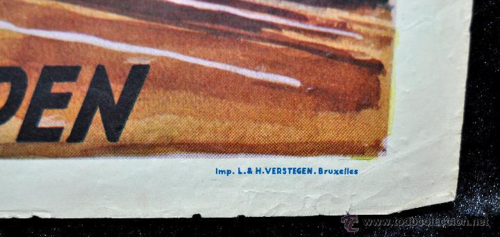 Cine: POSTER ORIGINAL DE 1957, LA BLONDE DES TROPIQUES, CELIA CORTEZ, ARMAND BERNARD, ETC - Foto 4 - 47595371