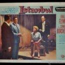 Cine: POSTER ORIGINAL, ISTANBUL, ERROL FLYN, CORNELL BORCHERS. DEL AÑO 1957. Lote 47595538