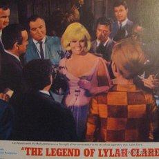 Cine: KIM NOVAK LOBBY CARD ORIGINAL ESTADOS UNIDOS LA LEYENDA DE LYLAH CLARE ROBERT ALDRICH. Lote 47685425