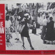 Cine: LA LEY LOBBY CARD ORIGINAL ESTADOS UNIDOS GINA LOLLOBRIGIDA MASTROIANNI MERCOURI. Lote 47691964