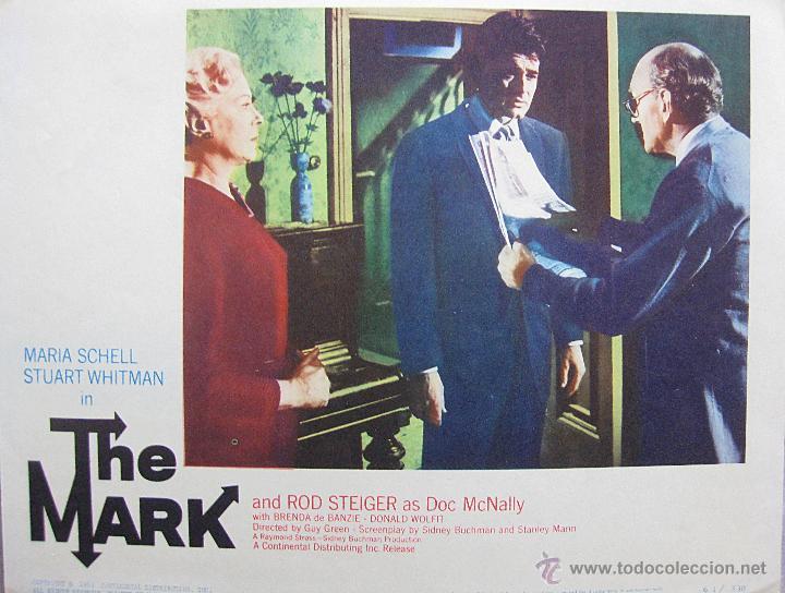 HOMBRE MARCADO LOBBY CARD ORIGINAL ESTADOS UNIDOS THE MARK MARIA SCHELL STUART WHITMAN (Cine- Posters y Carteles - Drama)