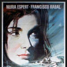 Cine: LAIA ESTRENO 1971 VICENTE LLUCH, NURIA ESPERT, FRANCISCO RABAL, JULIETA SERRANO 100 X 70. Lote 47844097