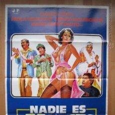 Cine: CARTEL CINE, NADIE ES PERFECTO, ALVARO VITALI, PAOLA SENATORE, 1980, C290. Lote 47940988