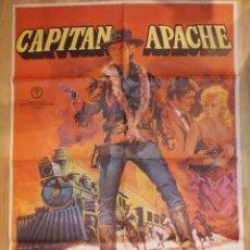Cine: CAPITAN APACHE-CARTEL ORIGINAL DE CINE. Lote 48113602